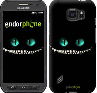 "Чехол на Samsung Galaxy S6 active G890 Чеширский кот ""689u-331"""