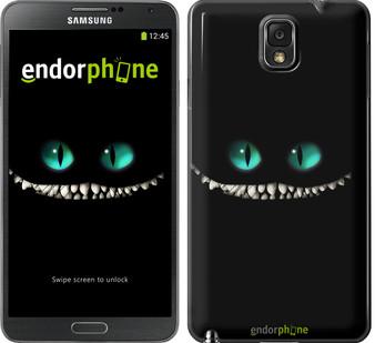 """Чехол на Samsung Galaxy Note 3 Neo N7505 Чеширский кот """"689u-136"""""""