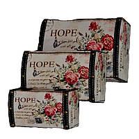 Кейс винтаж Hope 3шт  70-4
