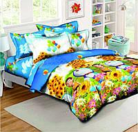 Постельное белье в кроватку Котофей (ранфорс)