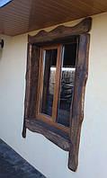 Деревянные наличники на окна, двери