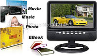 Портативный телевизор TV NS-701 7 дюймов, компактный автомобильный телевизор, портативный телевизор в машину