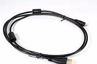 КабельHDMI-micro HDMI1.5m черный, кабель адаптер micro usb hdmi, кабель переходник для электроники