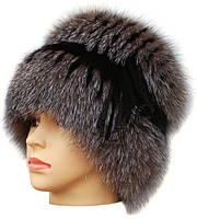 Женская шапка из меха блюфроста  барбара голд