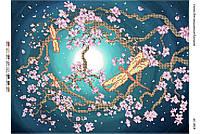 Схема для вышивки бисером Сакура (Час. Виш) БС-3018