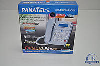 Телефон с определителем номера Panatel КХ-TSC 6095 CID, стационарный телефон для дома, проводной телефон