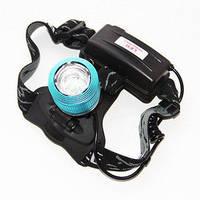 Налобный фонарик Bailong BL-2199, фонарь налобный аккумуляторный, мощный компактный фонарик на голову
