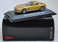 Коллекционный автомобиль Mercedes Benz SLS AMG Coupe 1:43 Schuco