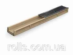 Заглушка с отводом DN50 для низкого канала ACO Gala высотой 8 см (77 мм)