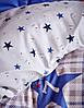 Подростковое постельное белье Karaca Home Peace синее, фото 2