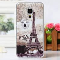 Чехол для Meizu M3 Max с картинкой - Париж открытка