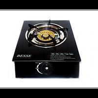 Газовая плита Basse 3081B1, газовая плита 1 конфорочная настольная, портативная газовая плита 1 конфорочная