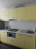 Кухня с фасадами из крашеного МДФ, фото 1