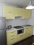 Кухня під замовлення з фасадами з фарбованого МДФ, фото 2