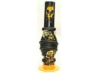 Бонг для курения (32 см) BG7-3, оригинальный курительный бонг, бонг акриловый, трубка бонг для курения