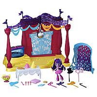 Куклы и пупсы «My Little Pony Equestria Girls» (B6475) мини-кукла Сумеречная Искорка (Twilight Sparkle) в школе, 8 см