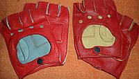 Перчатки спортивные атлетические открытые пальцы
