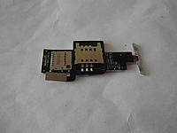Шлейф сим карты б.у. оригинал для LG Optimus Sol E730