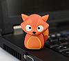 Ударопрочная флешка 16GB Лиса