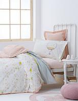 Подростковое постельное белье Karaca Home Ninon персиковое