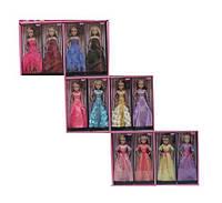Кукла DD LS8888-10 1458364 36шт2 12 видов, шарнир, в бальных платьях, в кор.