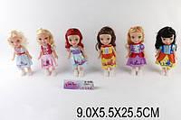 Кукла Принцесса P810 1525766 240шт3 6 видов,муз, в пак. 95,525,5 см