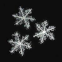 Снежинка декоративная 18*18см (уп.3 шт.)