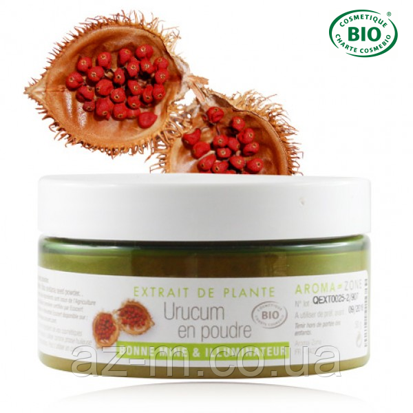Экстракт Урукума (Urucum) (порошок) BIO, 50 г