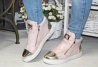 Ботинки золотой носик