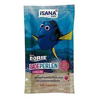 ISANA Kids Badeperlen Erdbeere 80 g - Жемчужинки для ванны детские с ароматом клубники, 80 г
