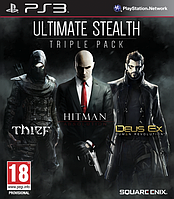 Игра Ultimate Stealth Triple Pack Thief, Hitman Absolution & Deus Ex Human Revolution (PS3)