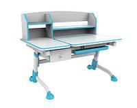 Детский стол-трансформер FunDesk Amare II with drawer Blue
