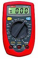 Мультиметр DT UT33B, тестер мультиметр, измеритель емкости, мультиметр цифровой