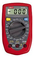 Мультиметр DT UT33С, тестер мультиметр, измеритель емкости, цифровой мультиметр dt
