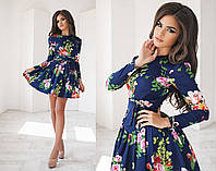 7b665eccdd4 Модное принтованое платье в Украине. Сравнить цены