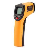 Інфрачервоний пірометр безконтактний GM320 з ЖК екраном з підсвічуванням і лазерною указкою SKU0000500