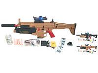 Автомат игрушечный M636, стреляет разрывными пулями очередью, игрушечное оружие, акамулятор