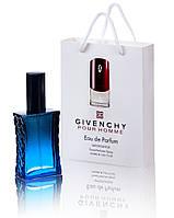 Мини парфюм Givenchy pour Homme в подарочной упаковке 50 ml