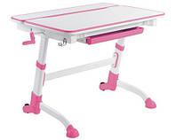 Детский стол-трансформер FunDesk Volare Pink + лампа L2