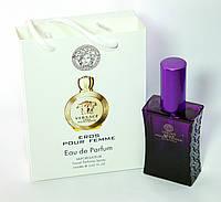 Мини парфюм Versace Eros Pour Femme в подарочной упаковке 50 ml