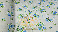 Семейный комплект постельного белья из фланели Голубая роза