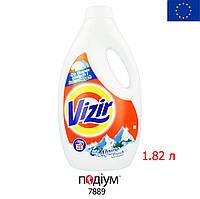 Гель для стирки Vizir Universal Alpine Fresh 1.82L.