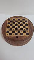 Шашки деревянные  диаметр 13 см