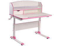 Детский стол-трансформер FunDesk Sentire Pink+лампа L5