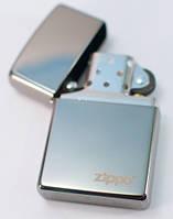 Ветрозащитная бензиновая зажигалка Zippo 150ZL BLACK ICE серебристая