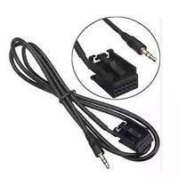 Кабель 3.5мм Aux  Car 3.5mm AUX in Cable for Ford Fiesta Mondeo MK3 Focus MK2 S-MAX PUMA Salable