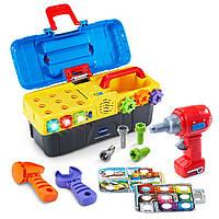 Детский набор инструментов VTech Drill and Learn Toolbox в чемоданчике