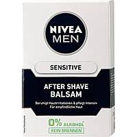 NIVEA MEN After Shave Balsam Sensitiv - Бальзам после бритья для чувствительной кожи, 100 мл