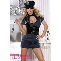 Костюм Полицейская платье спандекс