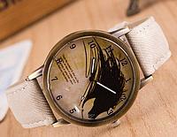 Стильные  часы  ковбой